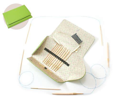 bamboo knitting needle set addi click bamboo addi interchangeable needle set