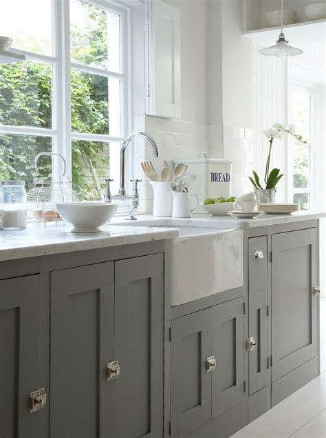 chalk paint grey kitchen cabinets how to paint kitchen cabinets with sloan chalk paint