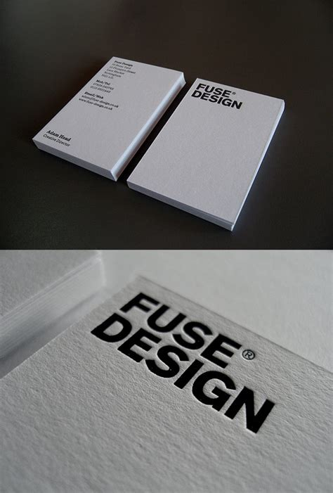 fuse designs new fuse business card cardobserver