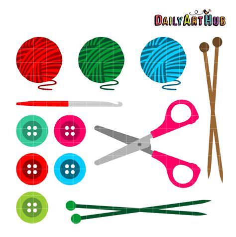 knitting clip crocheting clipart creatys for