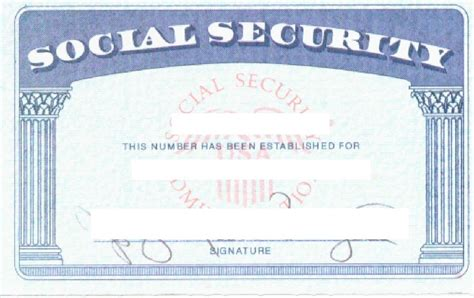 make social security card social security card template wordscrawl