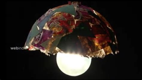 craft paper l shades paper mache light shade how to make paper mache light