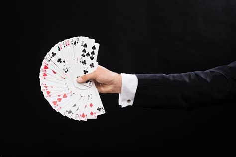 card magic how up magic differs from stage magic magic by mio