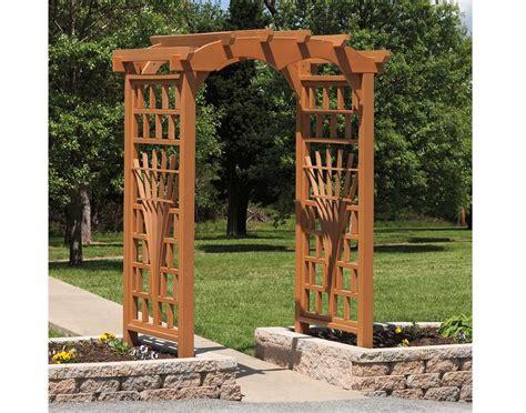 Garden Arbor Plans Poly Lumber Tivoli Arbor