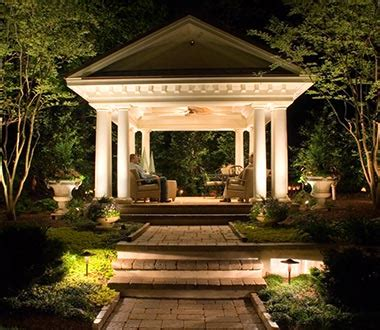 outdoor landscape lighting northern va outdoor lighting installation