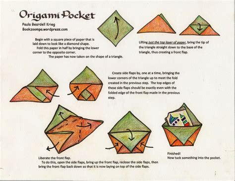how to make an origami book how to make an origami phlet playful bookbinding and