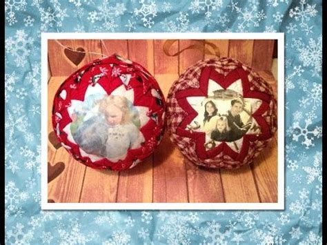 how to sew ornaments no sew quilted picture ornament no sew ornament