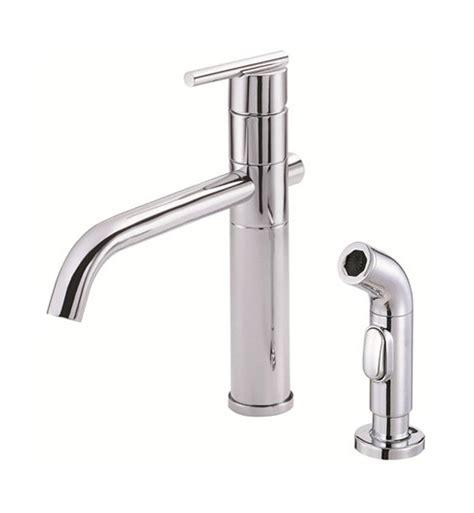 danze parma kitchen faucet danze d405558 parma single handle kitchen faucet with spray in chrome