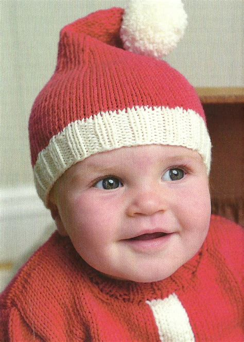 knitted santa hat for baby santa baby hat sweater burns
