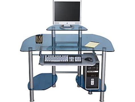 z line glass computer desk z line designs computer desk 89 95 business