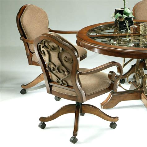 casual dining room chairs casual dining chairs with casters table design images