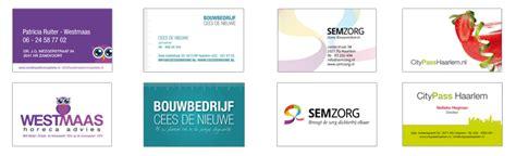 visitekaartjes ontwerpen webdesign zandvoort