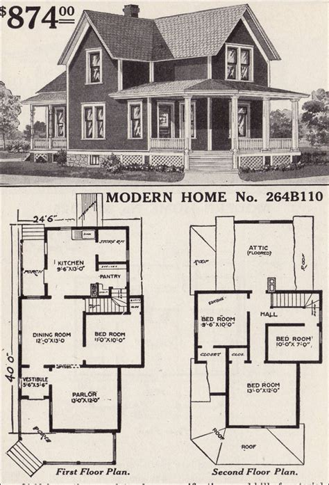 sears homes floor plans sears catalog house plans 171 floor plans