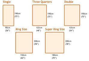measurements for a bed 17 best ideas about king size mattress dimensions on