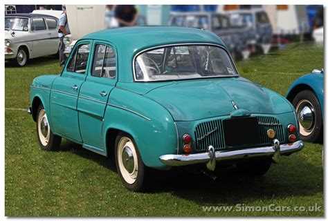 Renault Dauphine by 1960 Renault Dauphine Photos Informations Articles