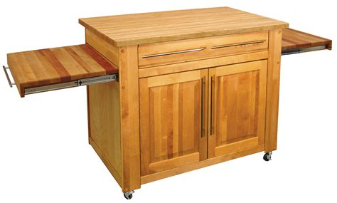 kitchen island with chopping block top catskill kitchen islands carts butcher blocks