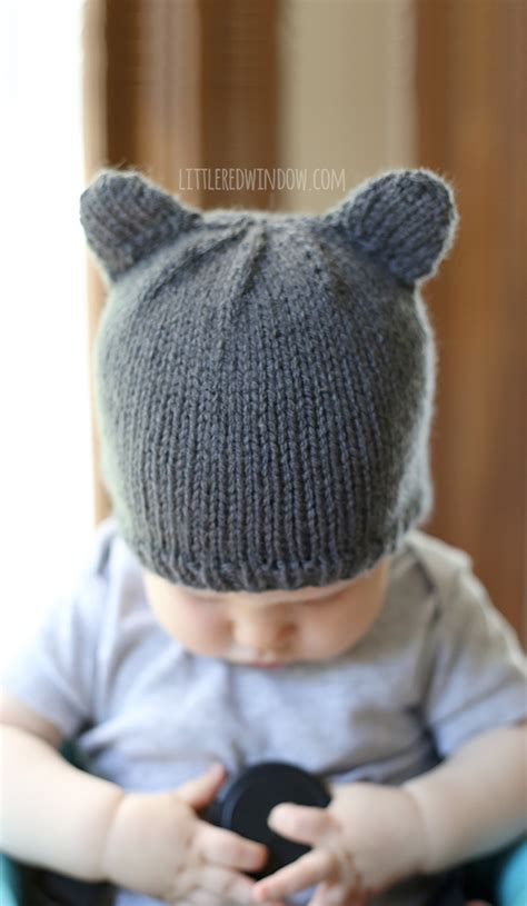 knitting patterns for baby hats with ears baby hat a knitting pattern by window