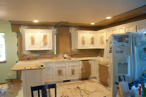 spray painting unfinished cabinets spray painting kitchen cabinets for the home