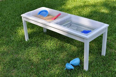 water sensory table how to build your own water sand sensory table for play
