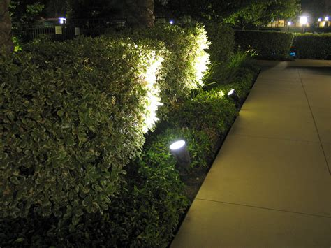 spotlight landscape lighting ledtronics led spotlights improve landscape lighting