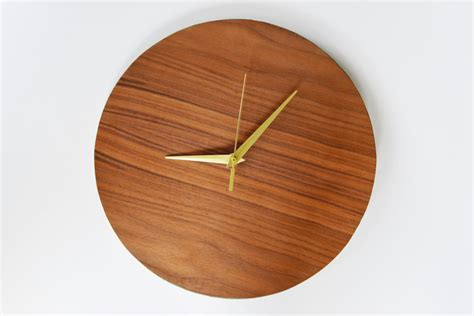 modern wood wall diy modern wood wall clock