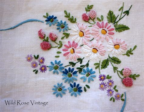 embroidery simple simple embroidery of flowers www pixshark