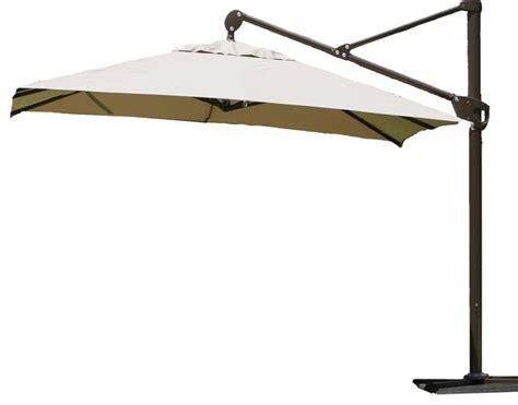 11 ft offset patio umbrella abba patio 11 ft offset cantilever umbrella with vertical