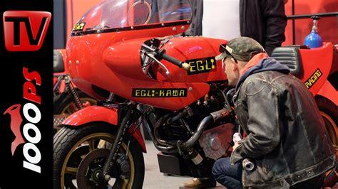 Motorrad Umbau Youtube by 200ps Turbo Kawasaki Egli Motorradtechnik Swiss Moto 2016
