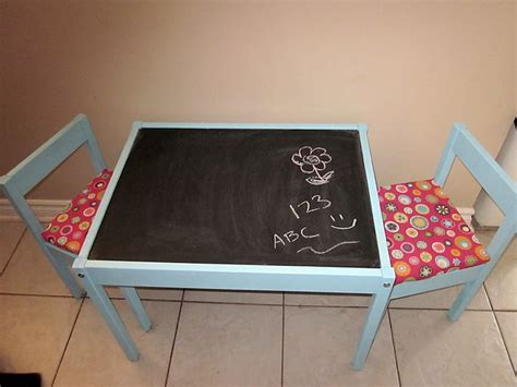 chalkboard paint table diy ikea latt chalkboard play table could also use white