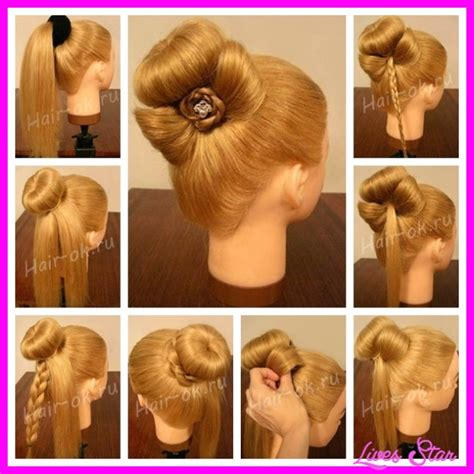 step by step guide to a beauitful hairstyle step by step hairstyles hairstyles fashion makeup