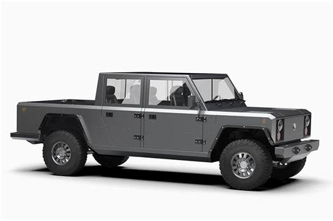 All Electric Motors by Bollinger Motors Reveals All Electric All Capable B2