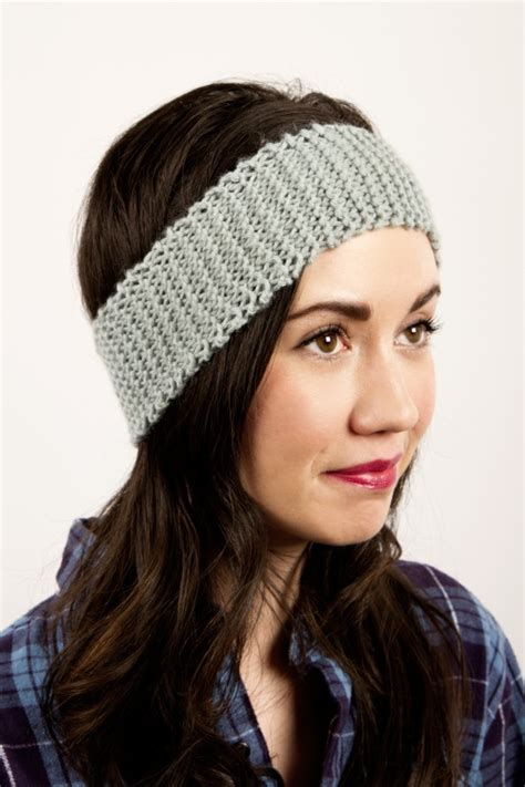 how to knit headbands newbie knitted headband by kollabora project knitting