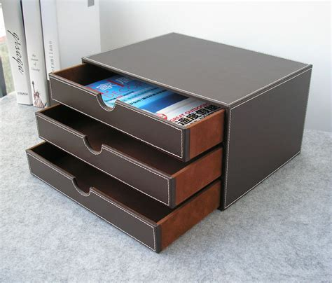 desk storage drawer popular leather file cabinet buy cheap leather file