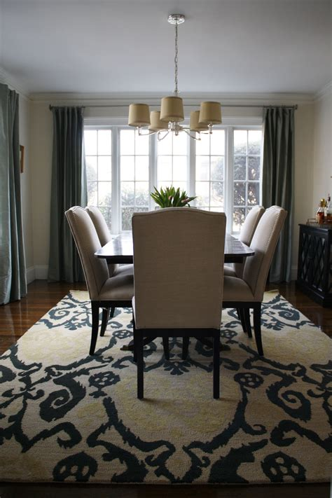 rug dining room modern dining room rugs simple design engrossing black