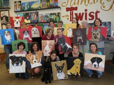 paint with a twist painting with a twist paint your pet charlottehappening