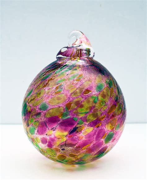 handblown glass blown glass baubles