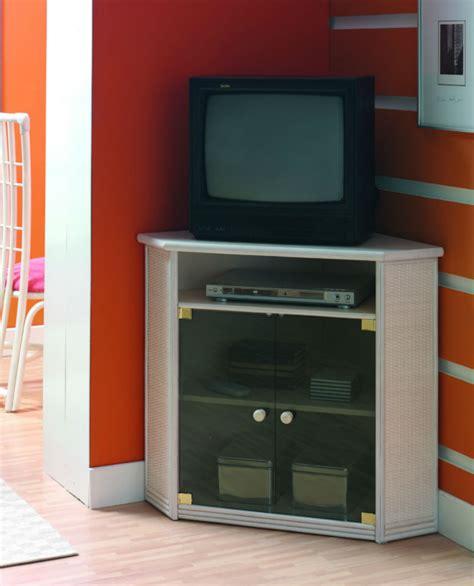 meuble tv d angle en rotin brin d ouest