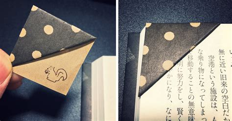 how to make your own origami paper simple trick to make your own origami bookmarks bored panda