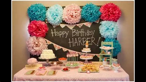 birthday decorations ideas at home baby birthday decorations at home ideas