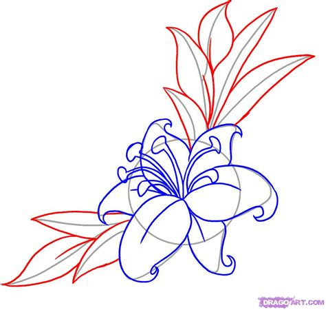 flowers step by step how to draw a flower step by step tattoos pop