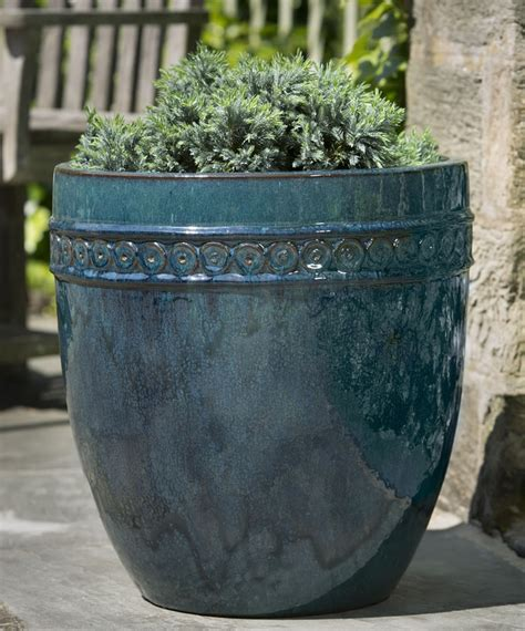 17 best images about glazed and ceramic planters and