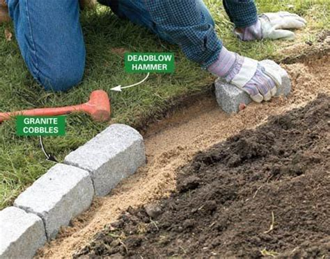 rock edging for gardens 25 best ideas about lawn edging on garden