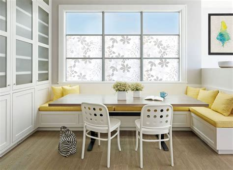 dining room design idea use built in banquette seating to save space contemporist