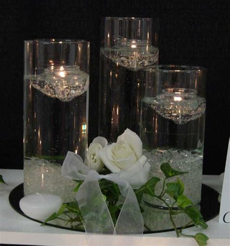table centerpieces candles wedding flower wedding candles wedding decorating