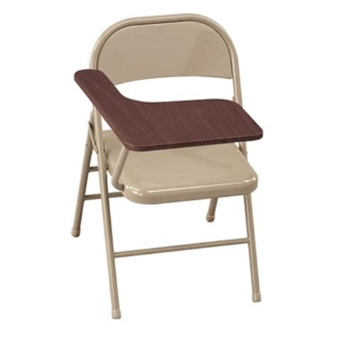 Folding Chair With Desk by Chairs With Desk Arm Folding Writing Tablet Seating For