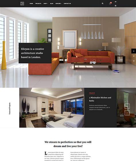 furniture templates for interior design ja elicyon ecommerce joomla template for