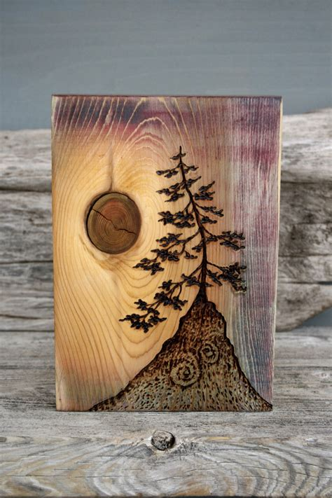 wood burning craft projects ancient tree block woodburning woodburning tree