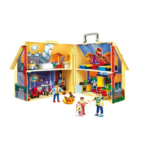 maison transportable playmobil 5167 la grande r 233 cr 233 vente de jouets et jeux la maison de ville
