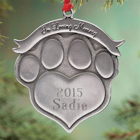 pet ornaments personalized pet memorial ornament