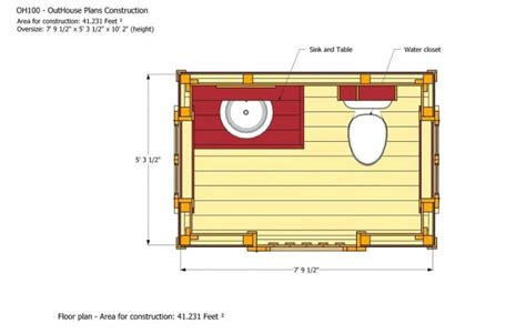 how to make house plans how to build an outhouse living the grid in style